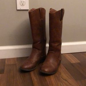 Girls cat and jack riding boots